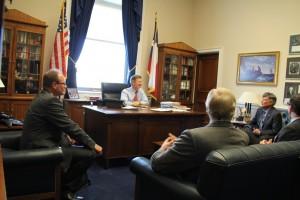 IIUSA Leadership and Hearing Witnesses Meeting with Chairman Smith
