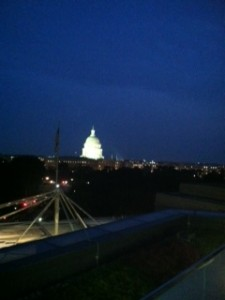IIUSA Rooftop Reception (night).