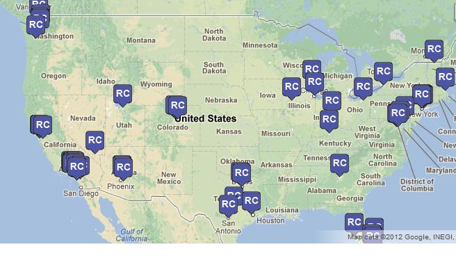 Interactive Regional Center Map has been Updated on IIUSA.org