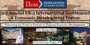 Initial Panel Topics for IIUSA's Annual EB-5 Forum in Las Vegas!