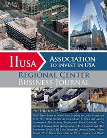 Advertising Space for 3rd Edition of Regional Center Business Journal for Sale Now!  Available Exclusively to IIUSA Members
