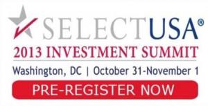 SelectUSA 2013 Investment Summit
