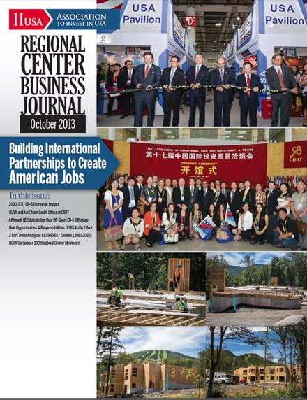 Advertising Space in December Issue of the Regional Center Business Journal is Available