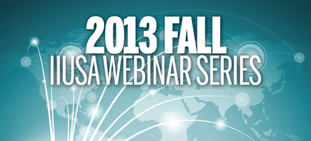 IIUSA Fall Webinar Series is Now On-Demand!
