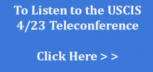 USCIS Teleconference Recording