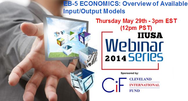 EB-5 Economics Webinar