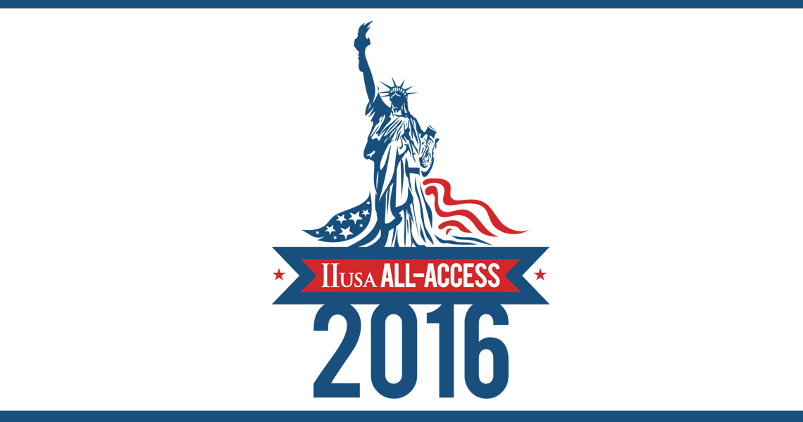 Purchase your 2016 All Access Pass – and Streamline Your IIUSA Membership – Today!