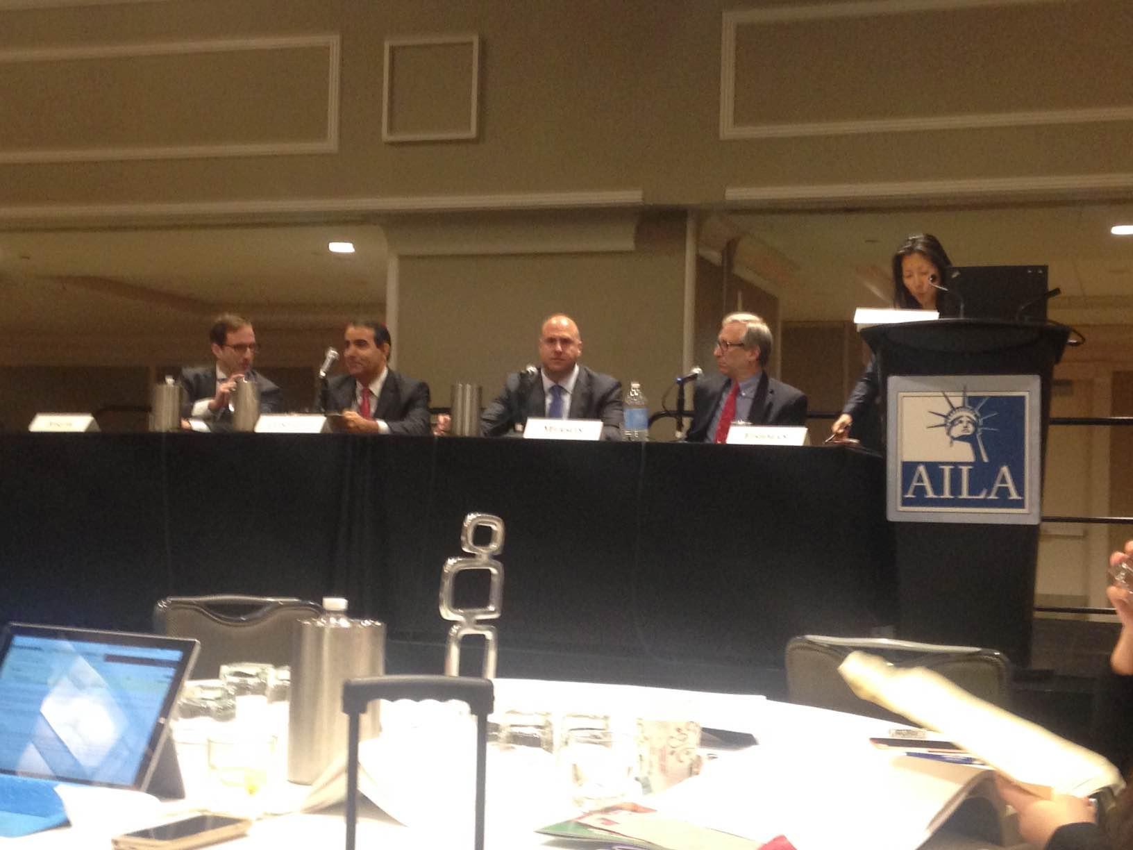 IIUSA Executive Director, Peter D. Joseph, presents at 2016 AILA EB-5 Investors Summit