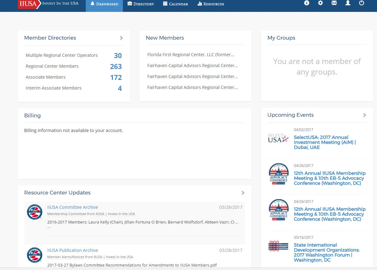 Been to the IIUSA Member Portal Lately? Explore the New and Improved User Experience