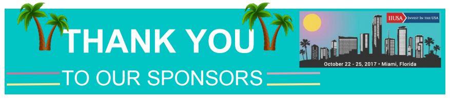Miami Conference Sponsors