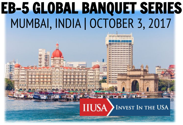 Join IIUSA in Mumbai this October for the Global Banquet Series