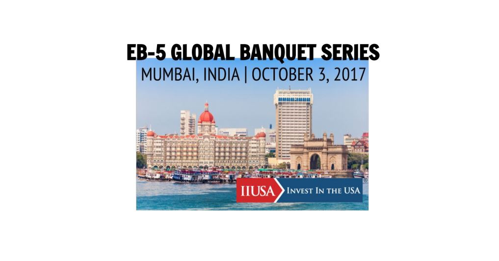 Don't Miss Out on the IIUSA Global Banquet Series Mumbai…Space is Limited So Register Today!