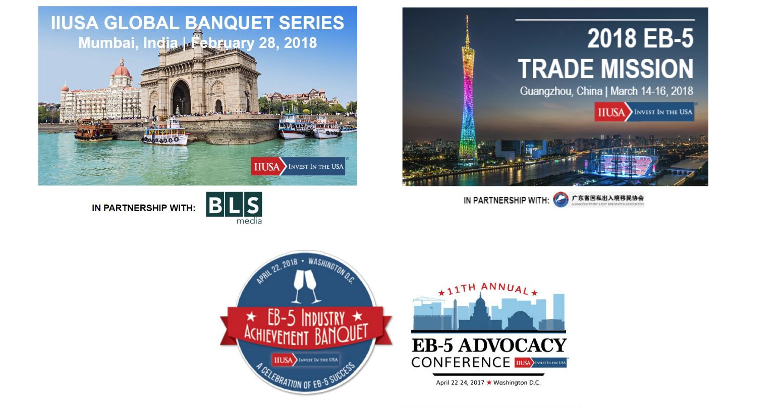 Join IIUSA as we Bring Together the Industry at Events Across the Globe