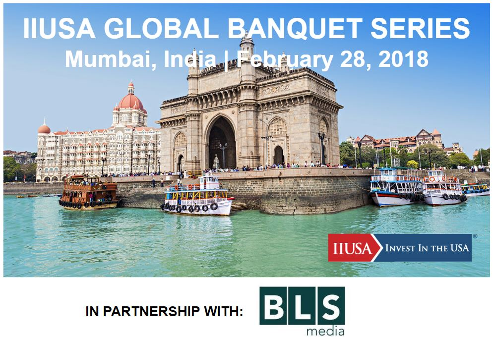 Will We See you in Mumbai in a Few Weeks for the IIUSA Global Banquet Series?