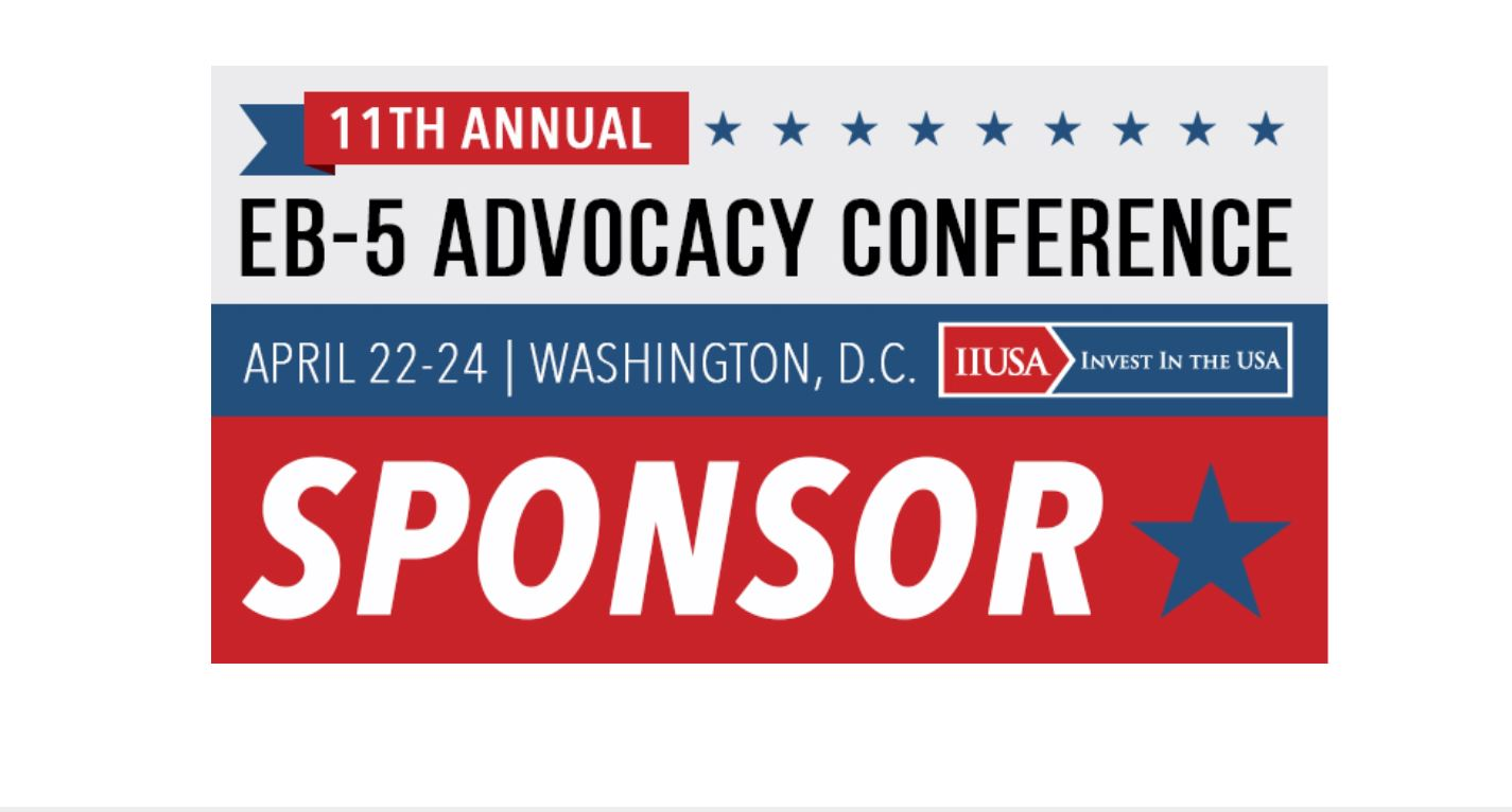 Meet the EB-5 Advocacy Conference Sponsors