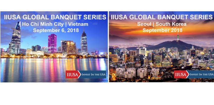 Join IIUSA Overseas this September for the Next Global Banquets