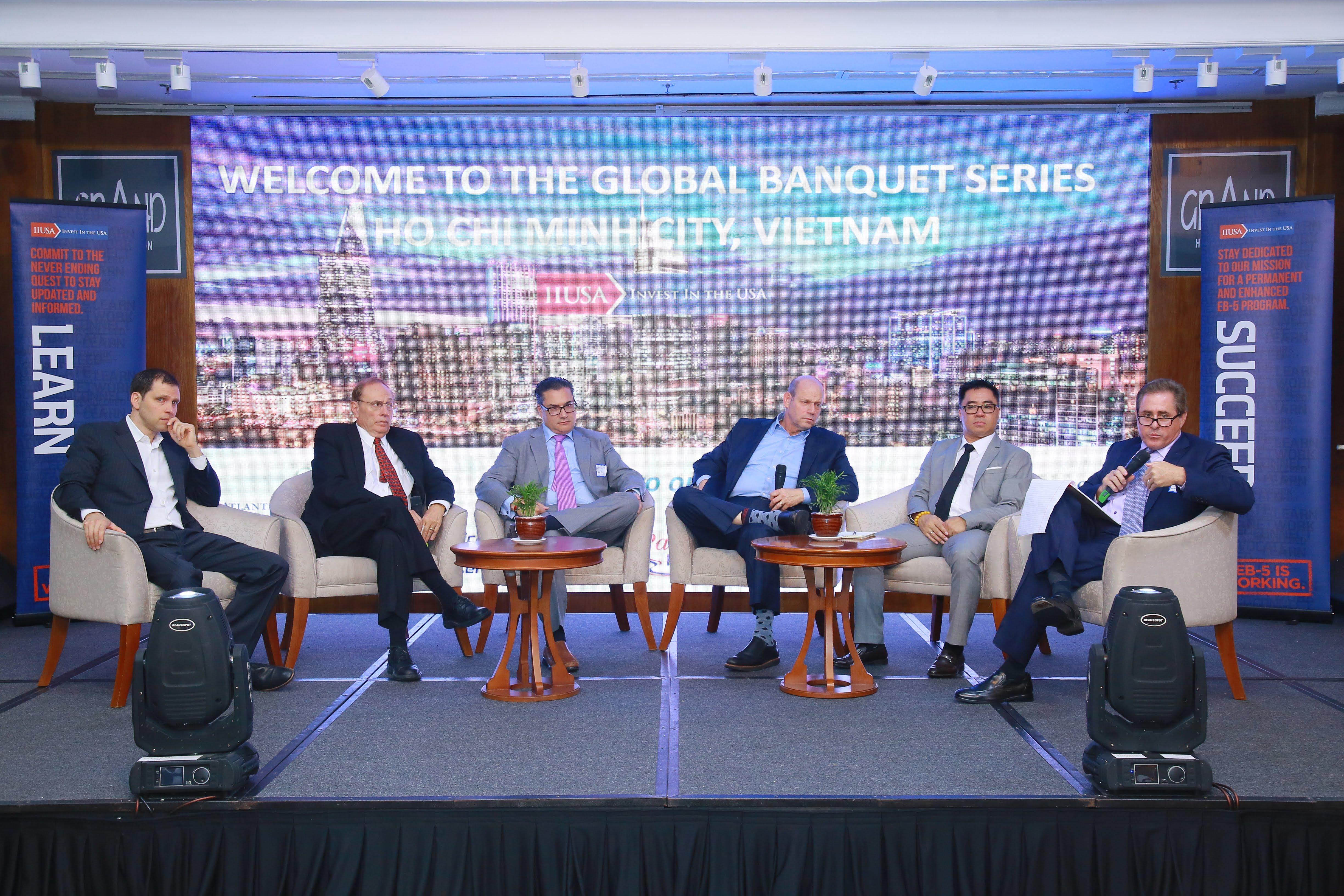 Recent IIUSA Global Banquet Receives Vietnamese Media Coverage