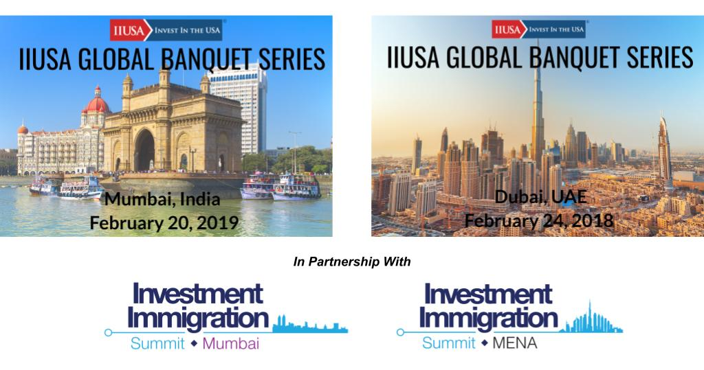 Mumbai & Dubai: IIUSA Kicking Off the 2019 Banquet Series