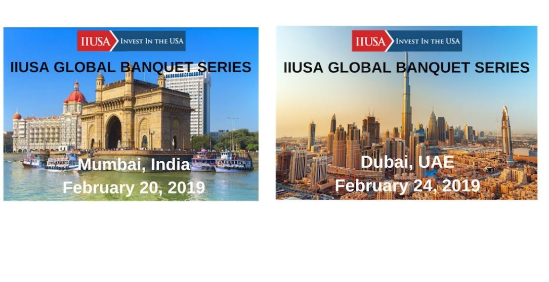 Secure your IIUSA Global Banquet Series Sponsorship Today