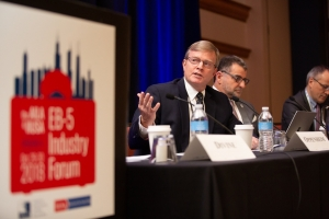 Mr. Charlie Oppenheim, Chief, Visa Controls & Reporting Division, U.S. Department of State Provides Attendees at the IIUSA EB-5 Industry Forum Key Data Insights on Visa Usage and Trends