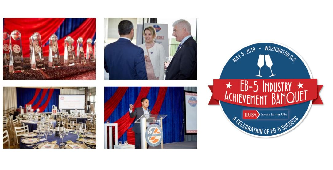 See you in DC for the IIUSA EB-5 Industry Achievement Banquet