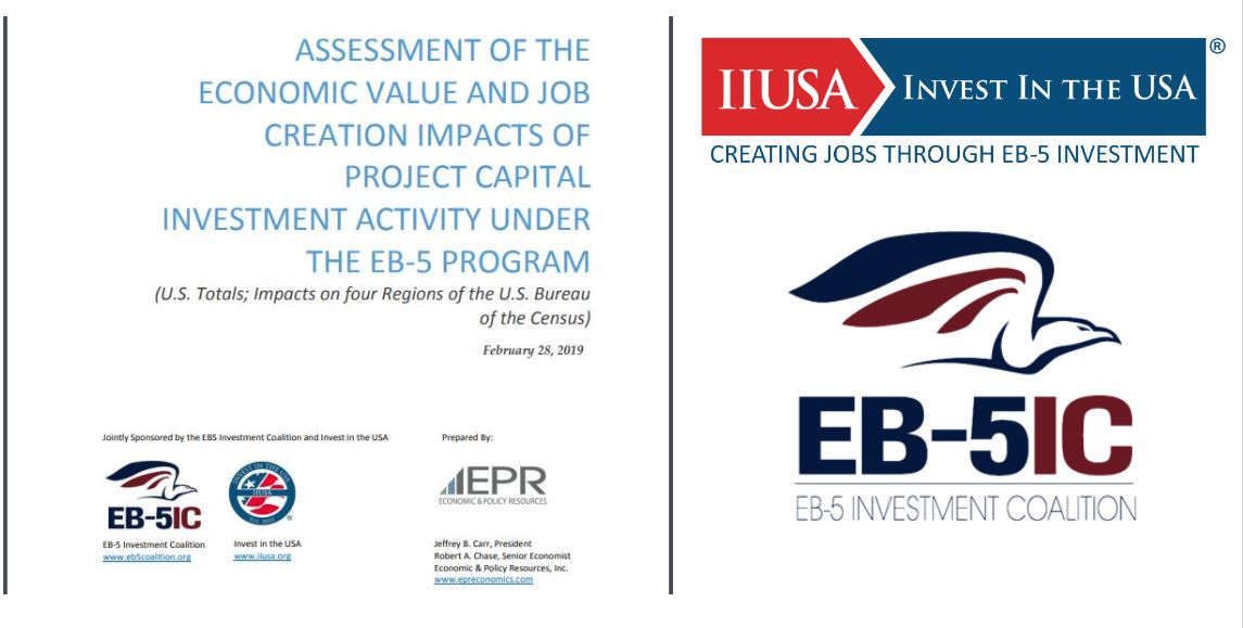 Press Release: New Report Details Economic Value and Job Creation Impacts Under the EB-5 Program