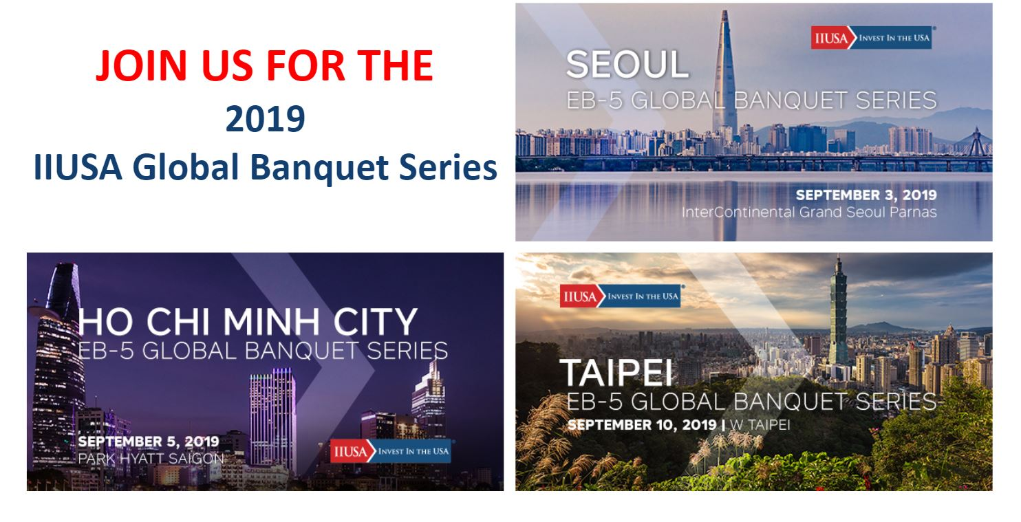 IIUSA Seoul and Taipei Banquets are Sold Out! Last Chance to Register for HCMC