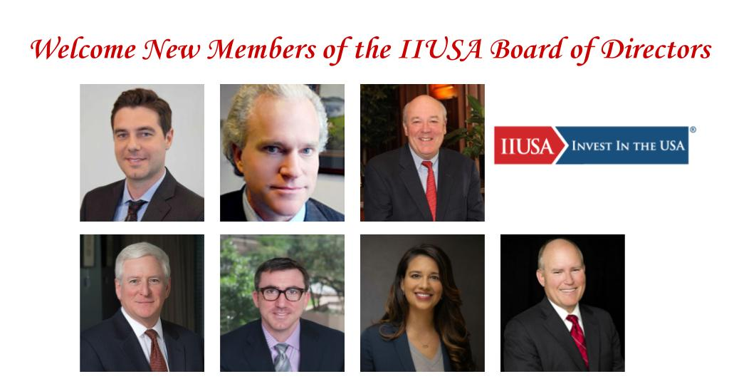 Introducing the Newly-Elected IIUSA Officers and Directors!