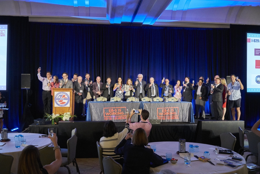IIUSA celebrates its members success at the annual I-829 awards during the EB-5 Industry Forum in Miami, FL | October 2017