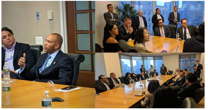 """IIUSA Member Perspective: """"From the City to The Hill: EB-5 Dialogue with Congressman Hakeem Jeffries"""""""
