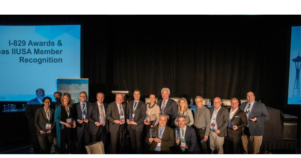IIUSA Honors 22 Member Organizations During I-829 Award Ceremony