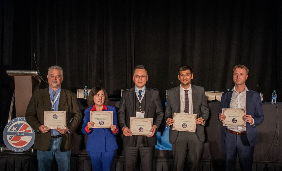 IIUSA Presents International Member Organizations with 2019-2020 Member Certificates