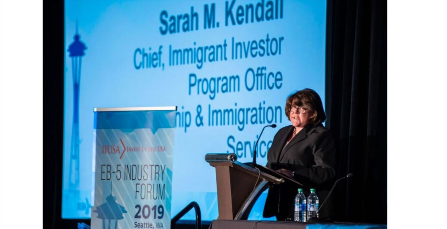 Sarah Kendall Remarks from the IIUSA EB-5 Industry Forum Now Available