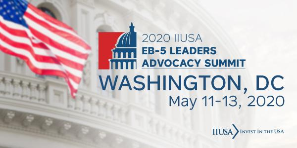 Announcing the Agenda for IIUSA's EB-5 Leaders Advocacy Summit