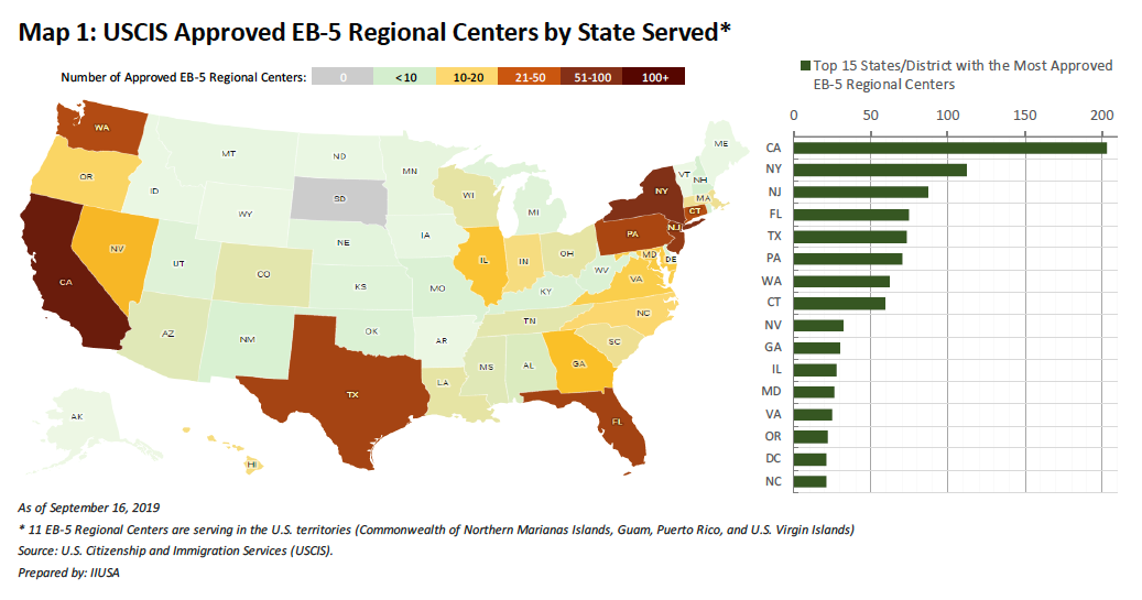 """A Deep Dive into the Data Lake of EB-5 Regional Centers Statistics"""