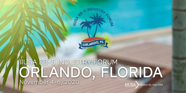 Limited Time Discounts Available for the Fall EB-5 Industry Forum