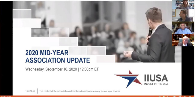 Recording Now Available: IIUSA 2020 Mid-Year Association and Government Affairs Update