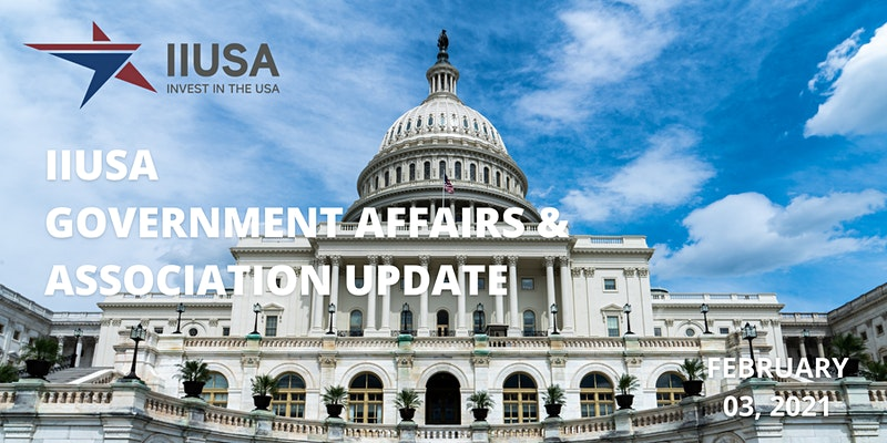 Last Chance to Register for the IIUSA Government Affairs Webinar