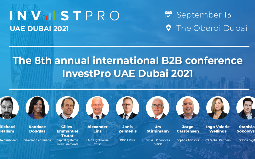 Bosco Conference Invites You to Participate in the 8th Annual International B2B Conference InvestPro UAE Dubai 2021