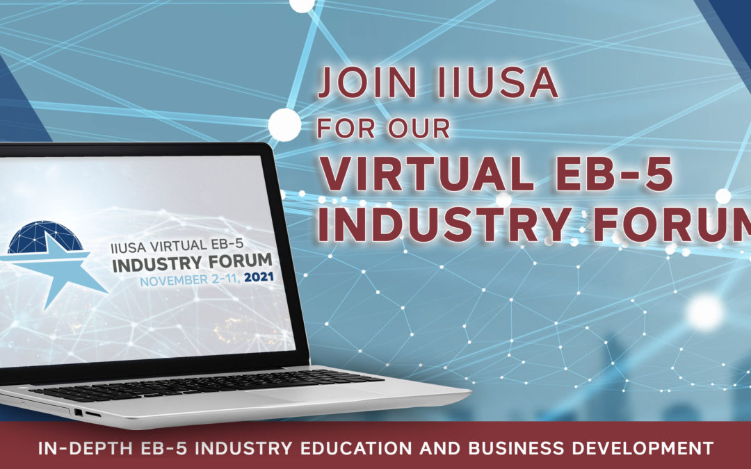 Last Chance to Sponsor the EB-5 Industry Event of the Year