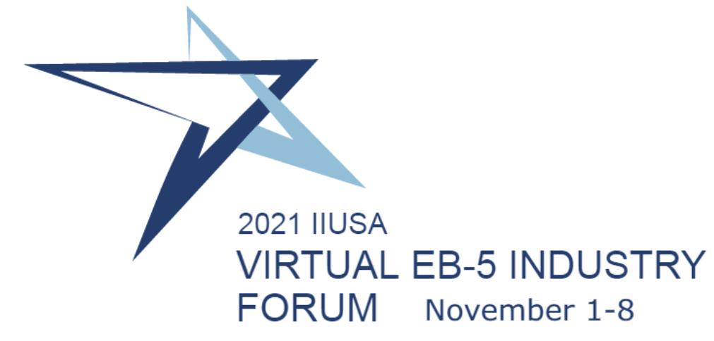 IIUSA EB-5 Industry Forum is Going Virtual
