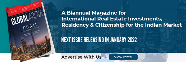Advertise in the Next Addition of Global Arena – Investment Magazine for the India Market