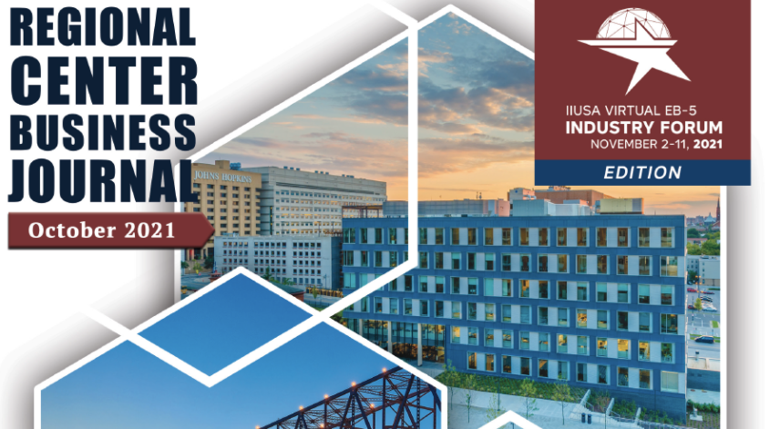 Fall 2021 Regional Center Business Journal Available Now!